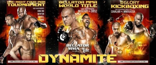 Bellator Dynamite poster